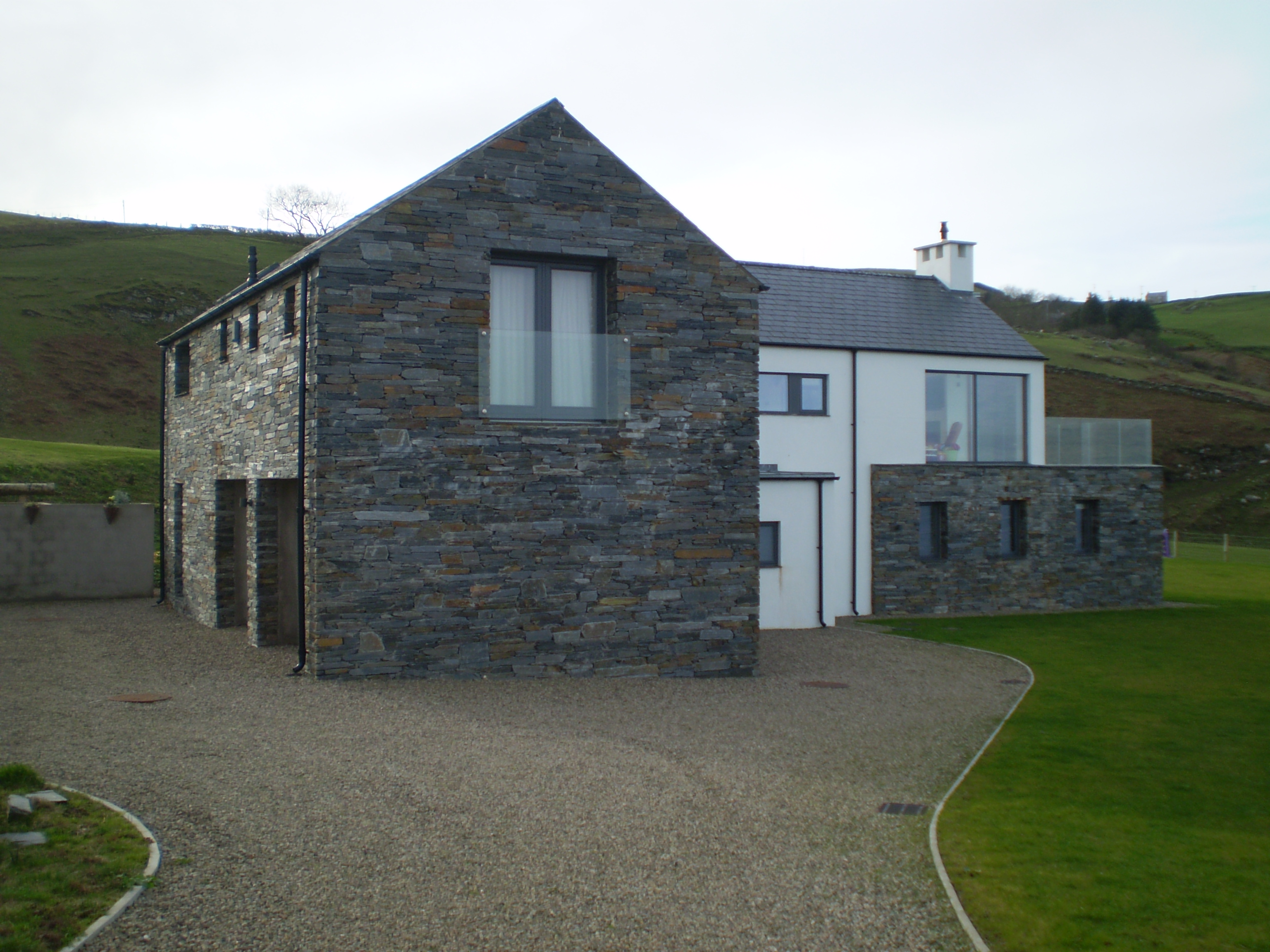 D law son skills dry stone wall for Stone built homes